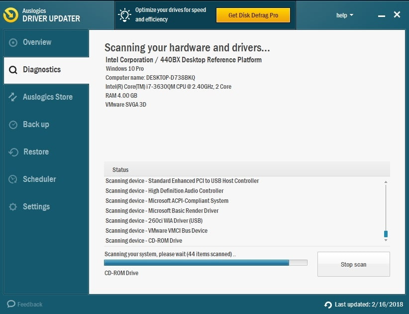 To fix all your drivers in one click, use Auslogics Driver Updater.