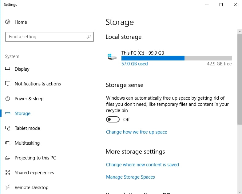 Make sure you have enough disk space to install Win 10.