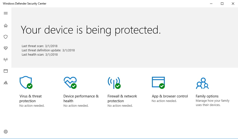 Scan your PC for malware with Windows Defender to fix your BSOD issue.
