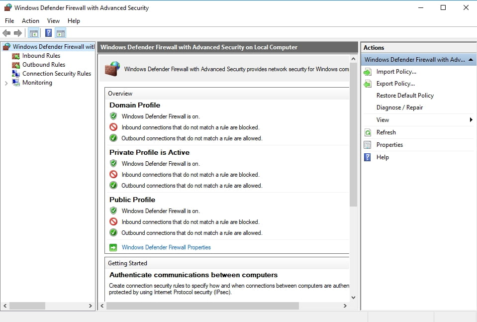 Windows Defender will keep your PC safe and secure