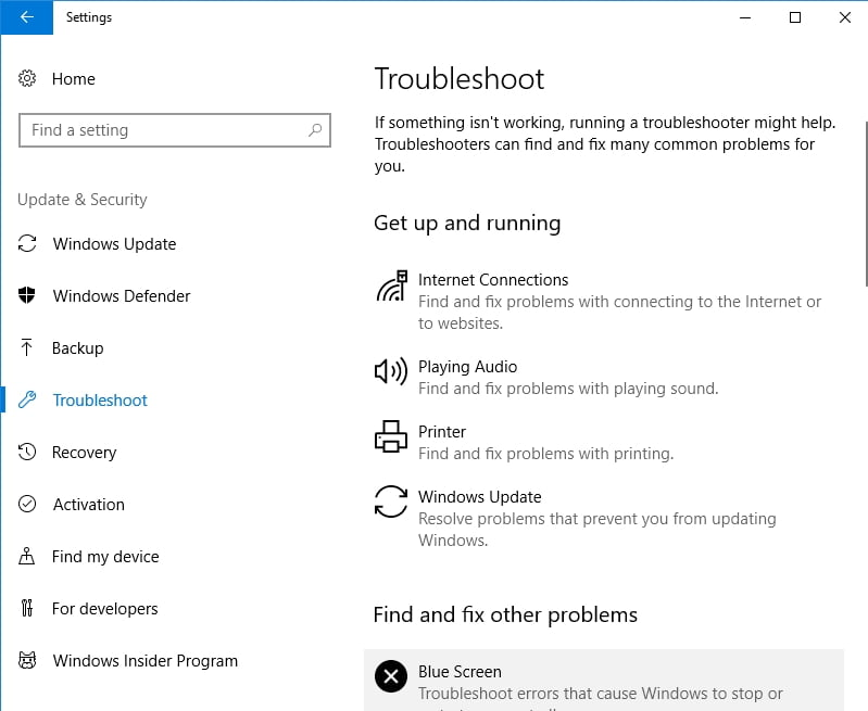 Troubleshoot your update problems