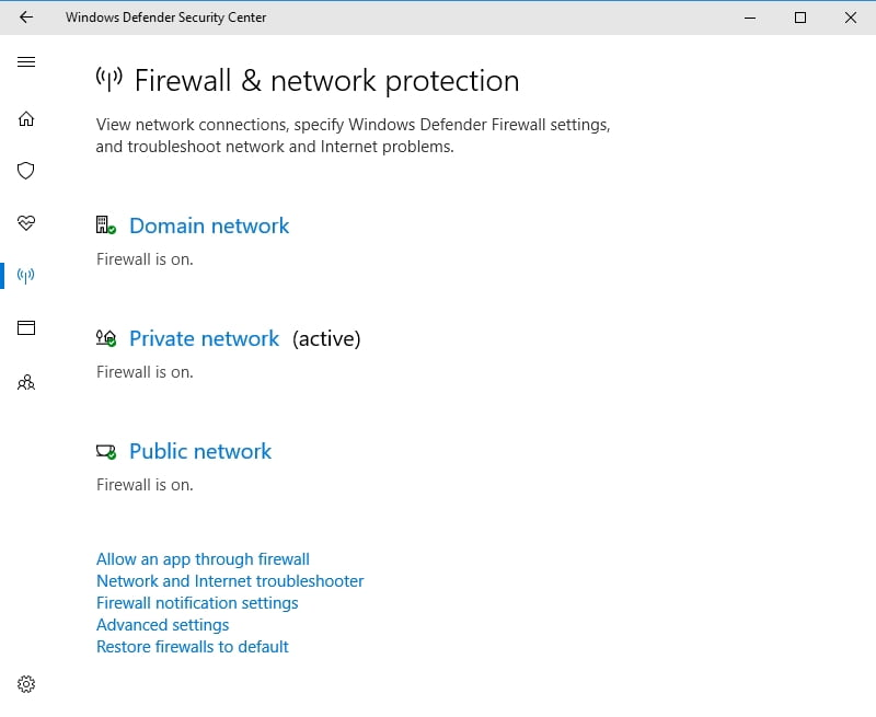Temporarily disable your WIndows Firewall to troubleshoot your issue