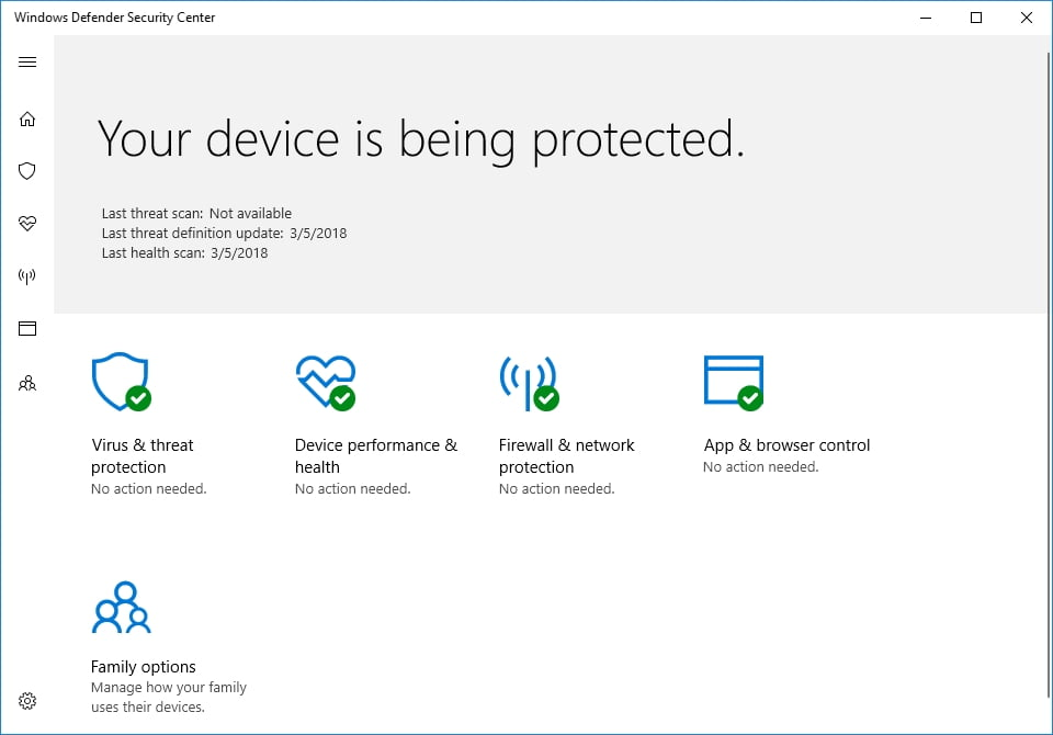 Windows Defender is a built-in tool that is designed to keep your computer safe ans secure.