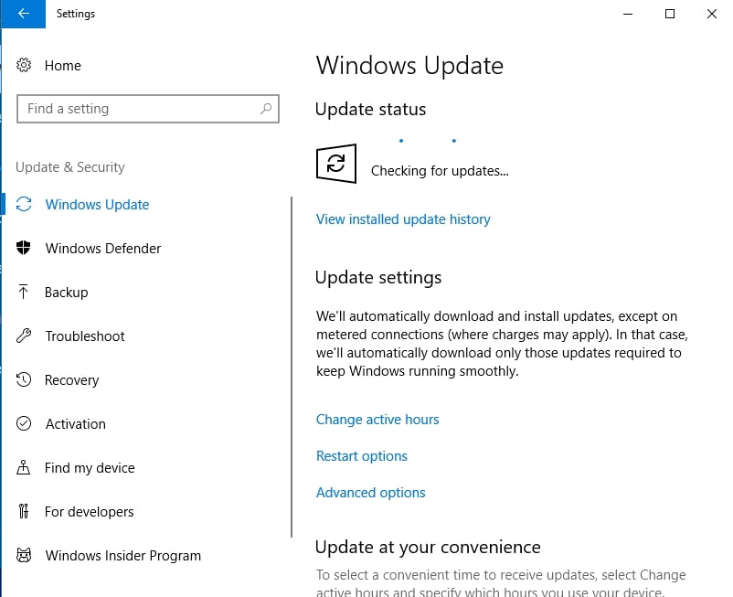 Update your OS, using WIndows Update
