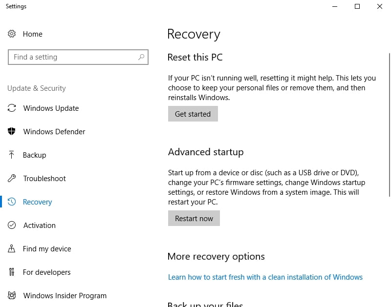 Reset your PC to give it a fresh start. This may get Cortana back on track.