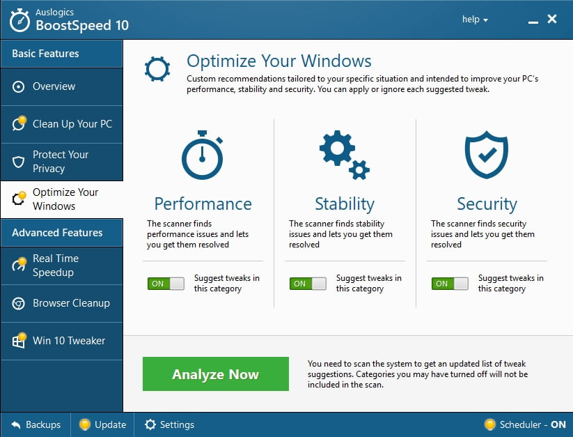 Speed up your PC and optimize your Windows for better browsing experience,