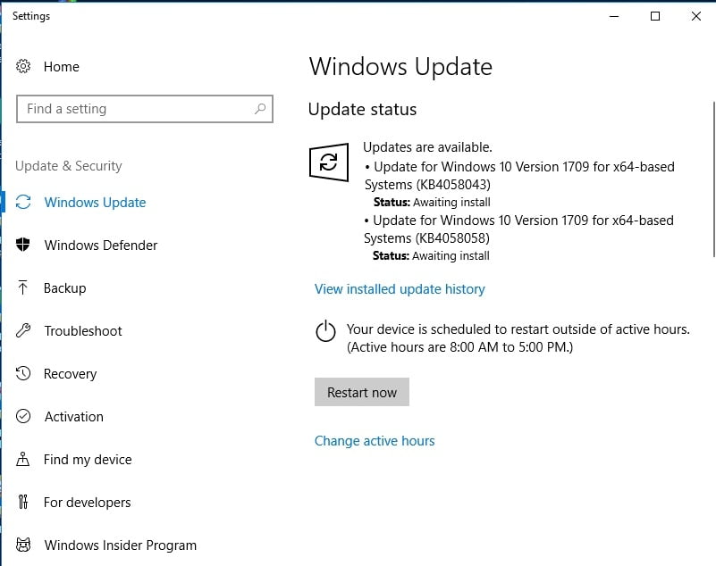 Update your Windows to repair your bdredline.exe issues