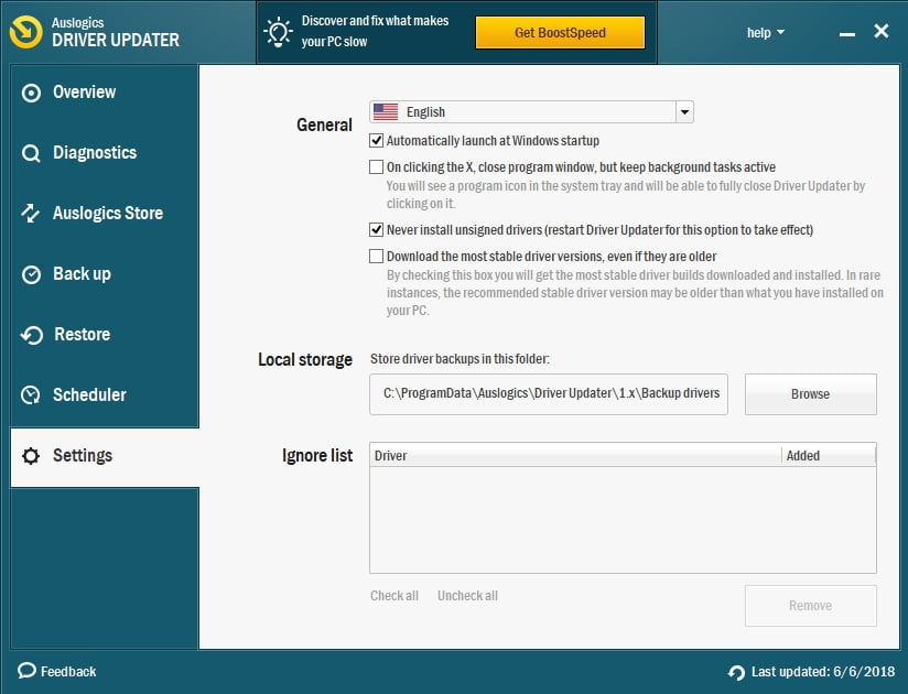 Driver Updater will update and fix all your drivers in a safe and efficient way