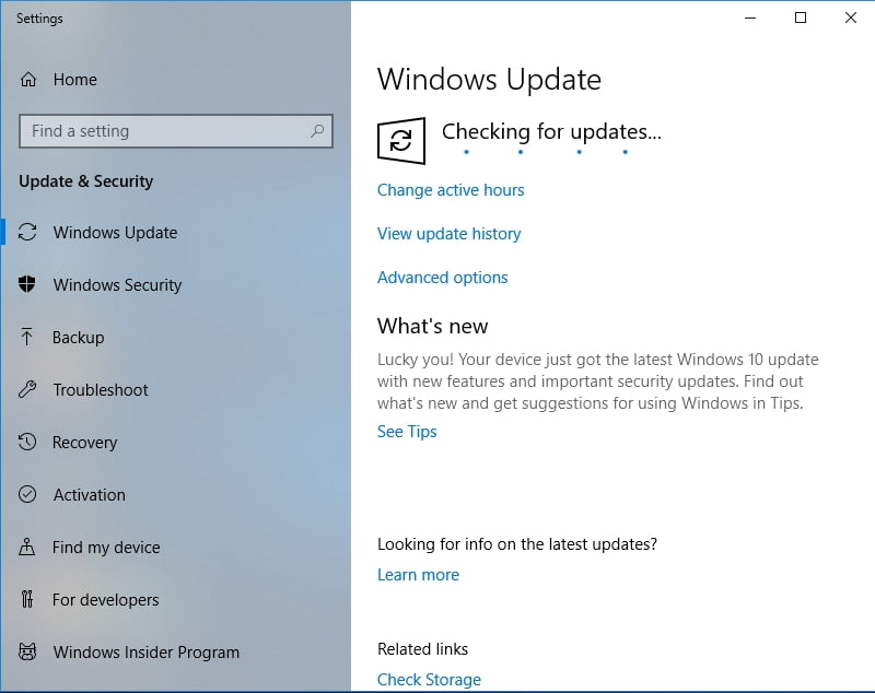 Update your OS to fix Microsoft Bing News App