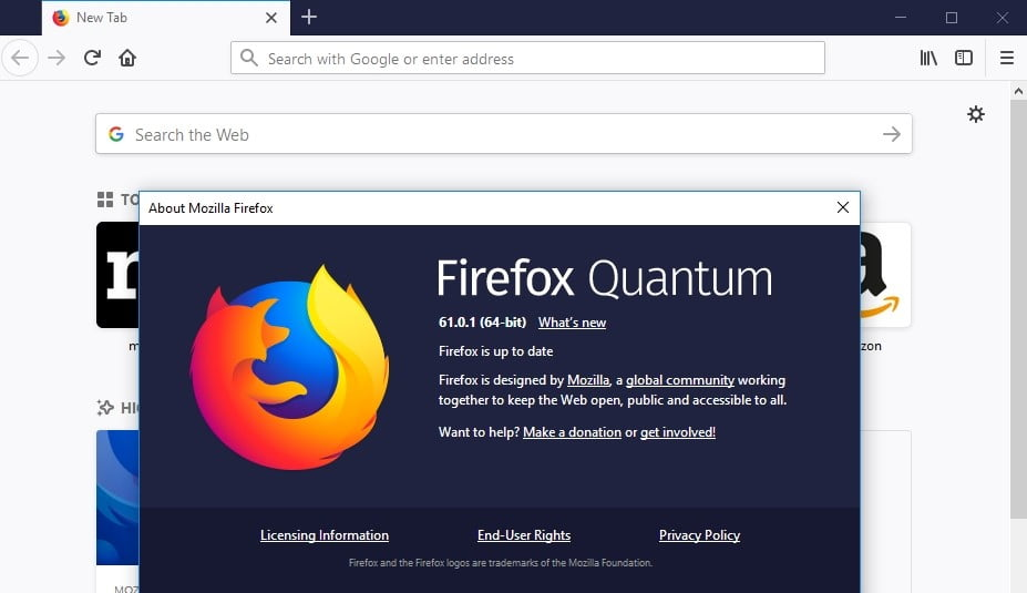 Make sure your Firefox is up to date