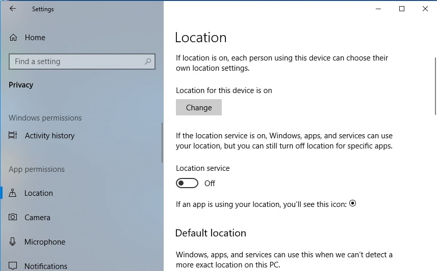 Why does Windows know users\u0027 geolocation?