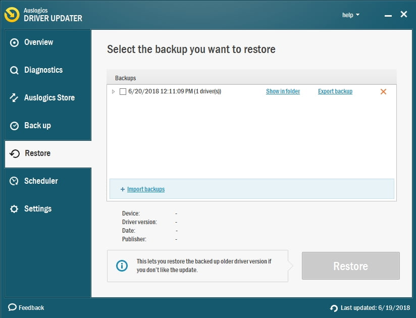 These days you can update all your drivers safely and effectively.