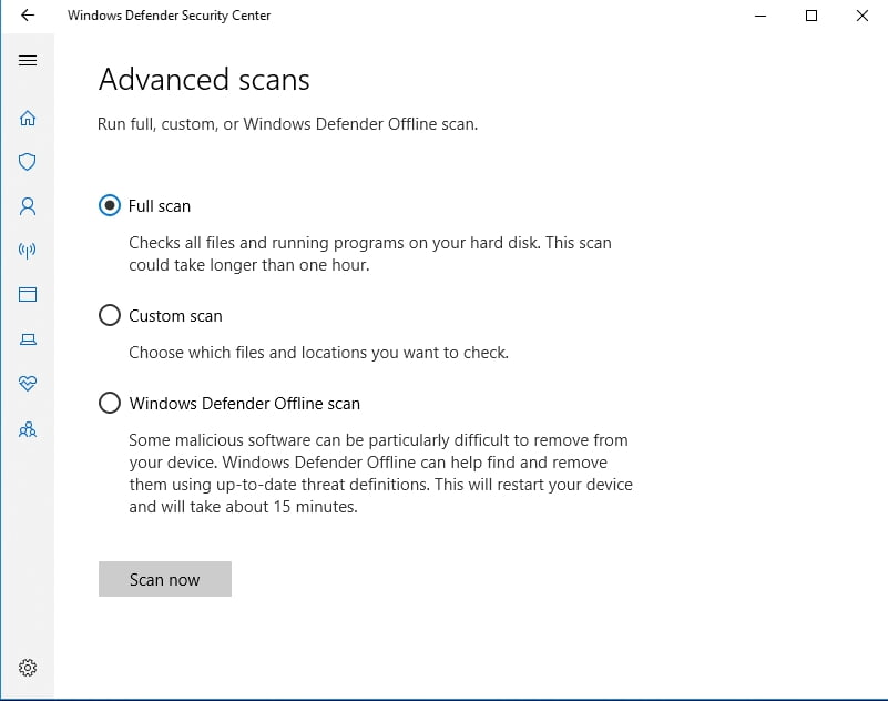 Scan your PC for malware.
