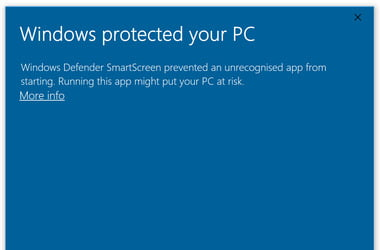 Is SmartScreen safe and why is it running on Windows 10?