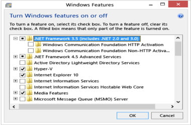 Why is  NET Framework 3 5 missing from Windows?