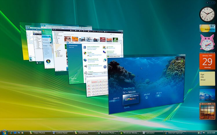 It is time to update from Windows Vista to Windows 10