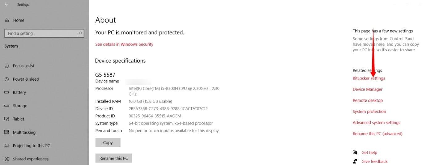 Setup Bitlocker on Windows 11