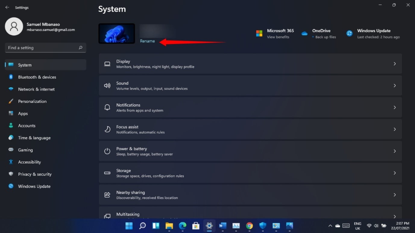 How to Change Username in Windows 11