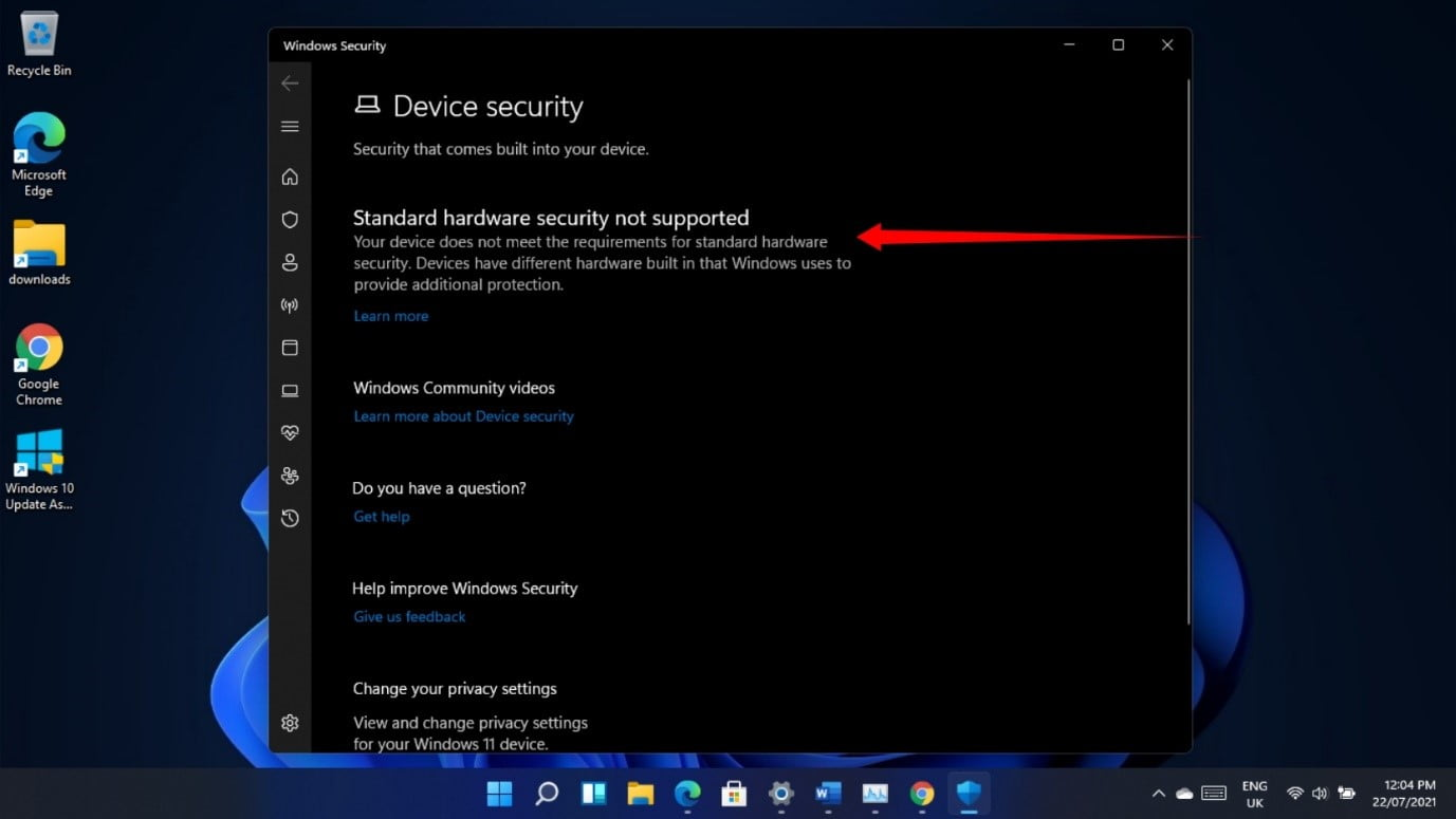 Here are common Windows 11 Security problems