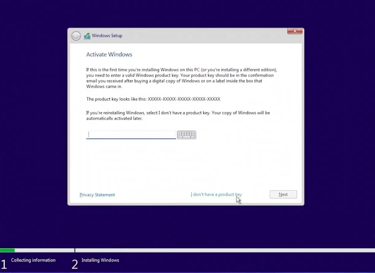 How to activate Windows 11?