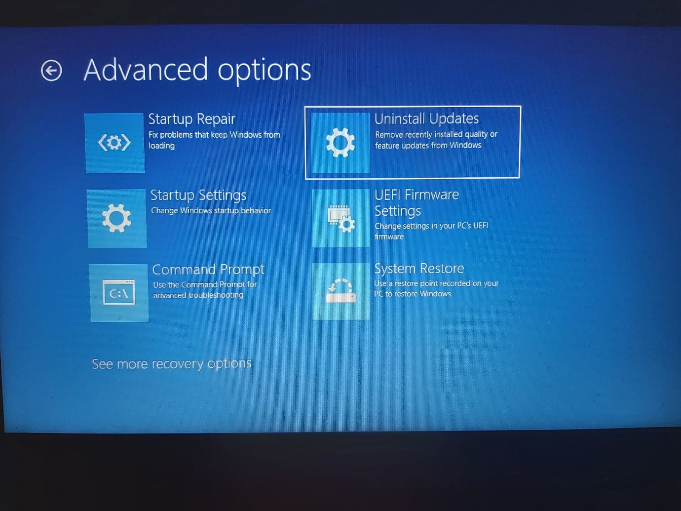 How to use the Advanced Startup environment in Windows 11?