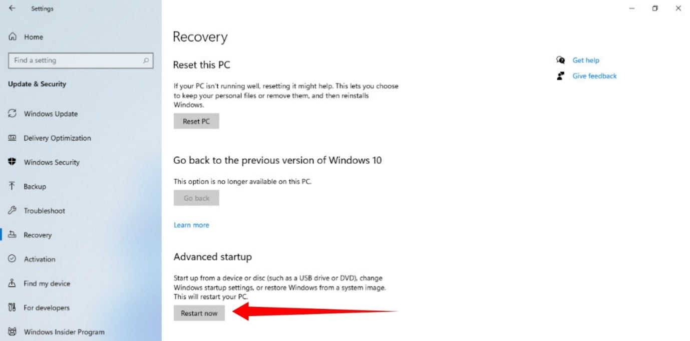 How to use Recovery on Windows 11?