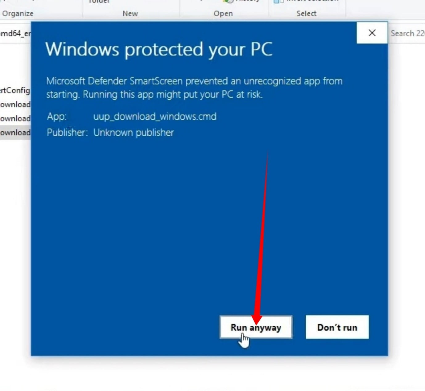 What does it mean if Windows protected your PC?