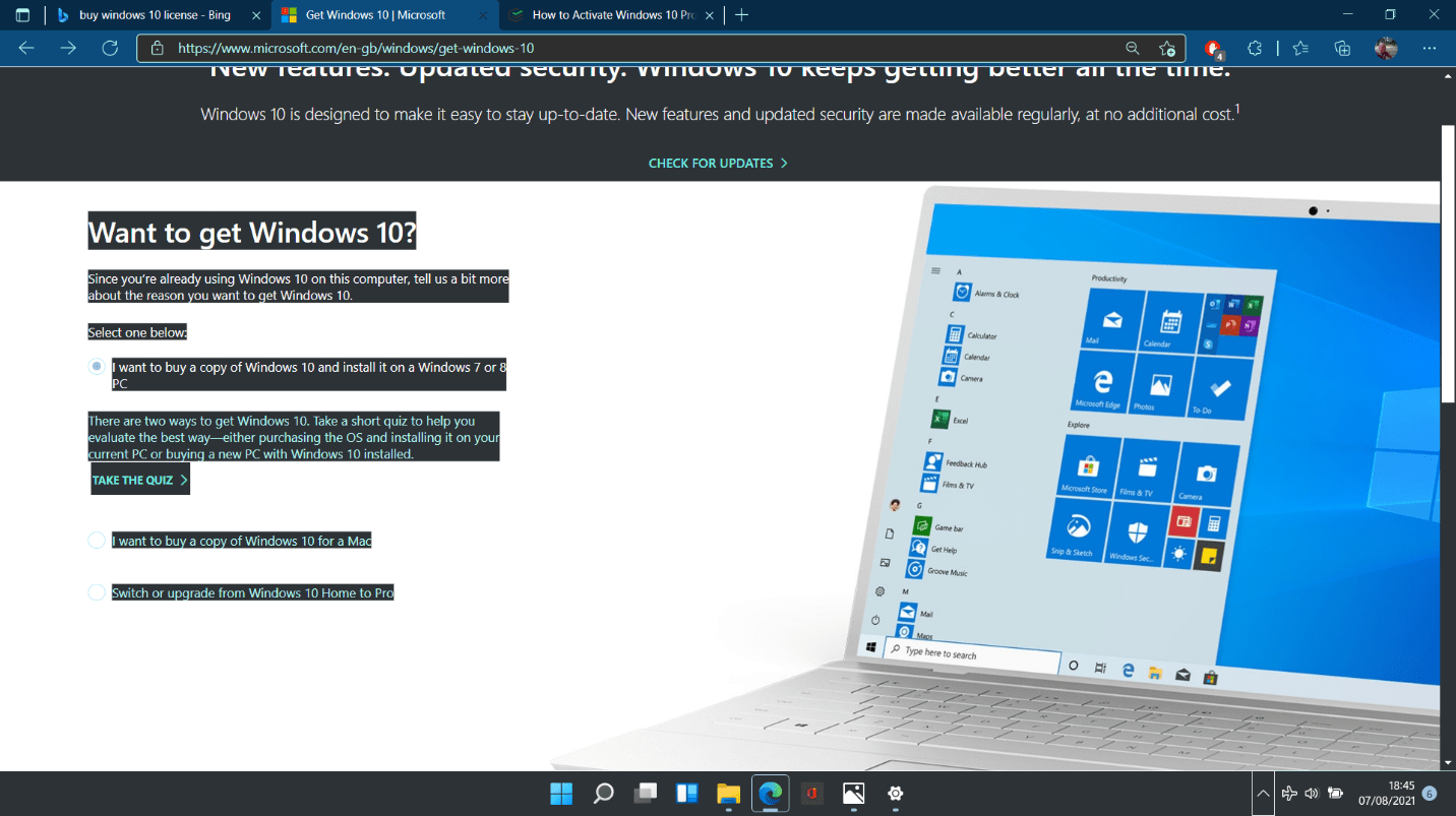 How to obtain Windows 11 license?