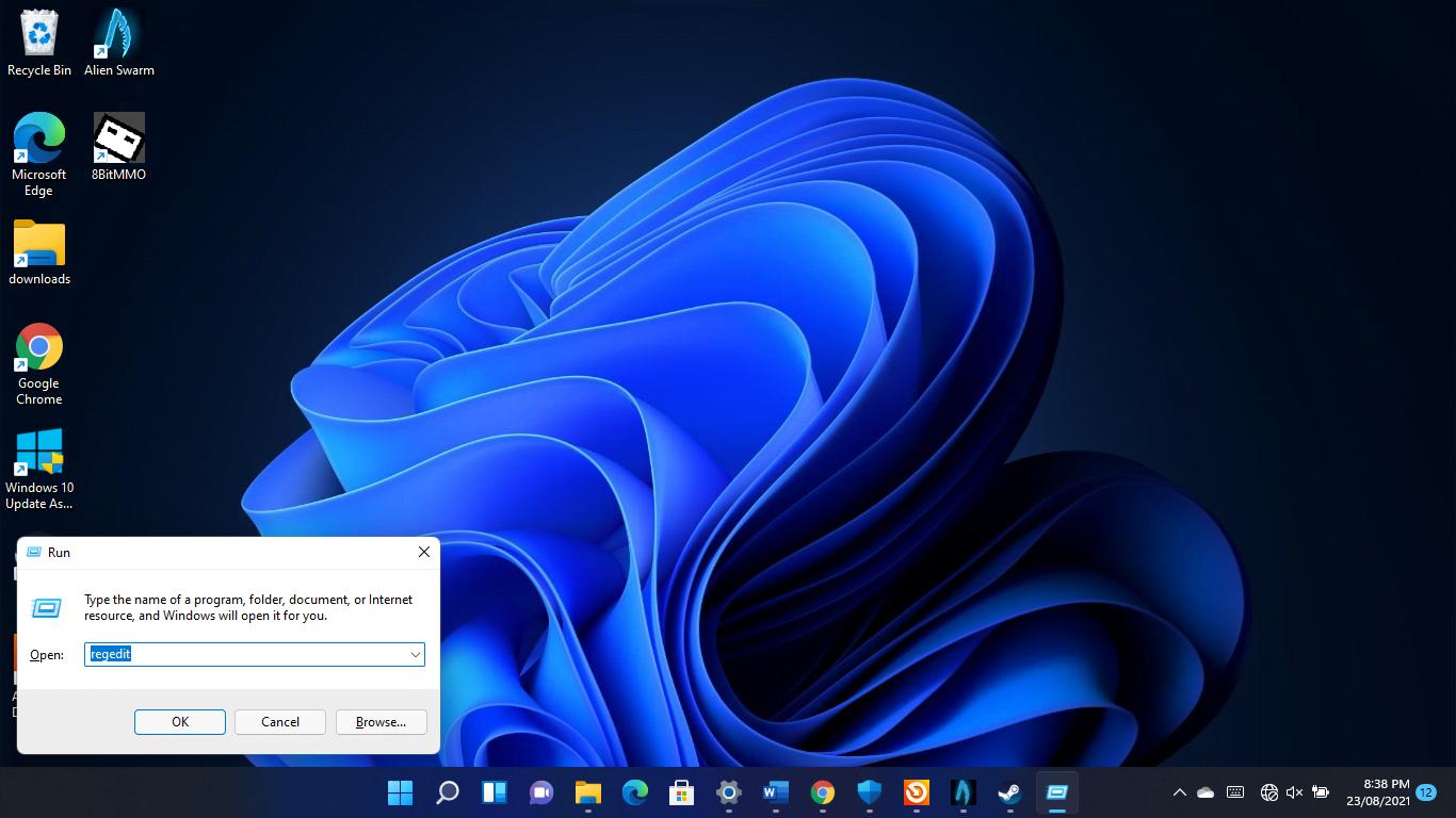 Use REGEDIT in Windows 11's Command Prompt