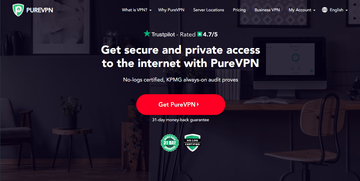 Main features and advantages of PureVPN in 2021