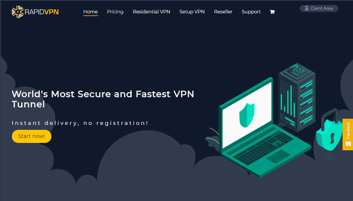 Main features and advantages of RapidVPN in 2021