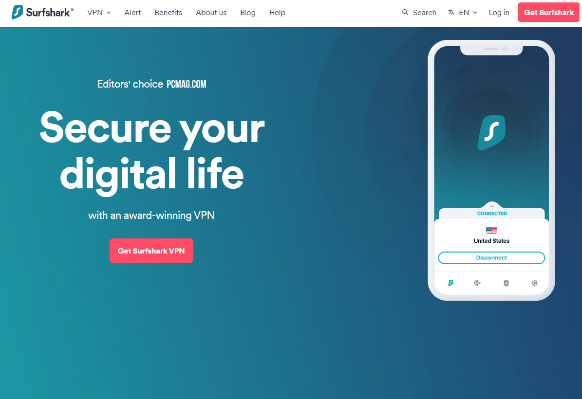 Main features and advantages of Surfshark in 2021