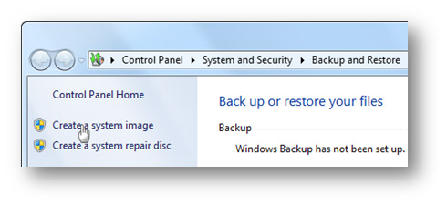 backing up computer files