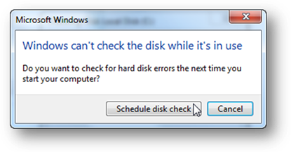 repair hard drive errors